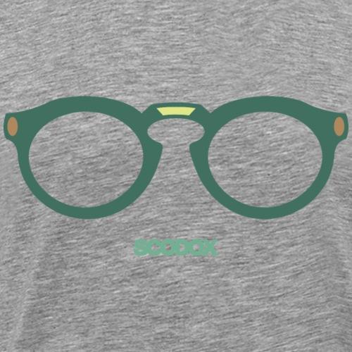 bril - Mannen Premium T-shirt