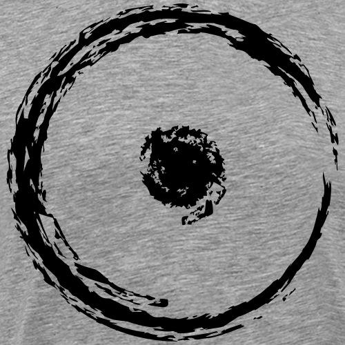 Wegzeichen Ziel erreicht- Kreide - Farbe wählbar - Männer Premium T-Shirt