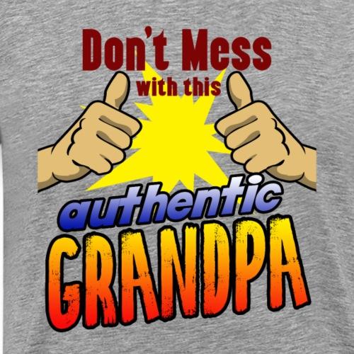 Geschenk Großvater Opa Onkel Oma Enkel Vater - Men's Premium T-Shirt