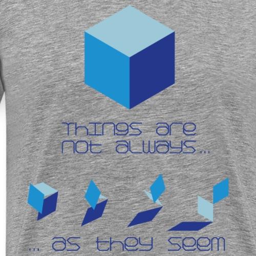 Not As It Seems - Men's Premium T-Shirt