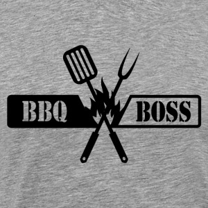 BBQ BOSS - Premium T-skjorte for menn