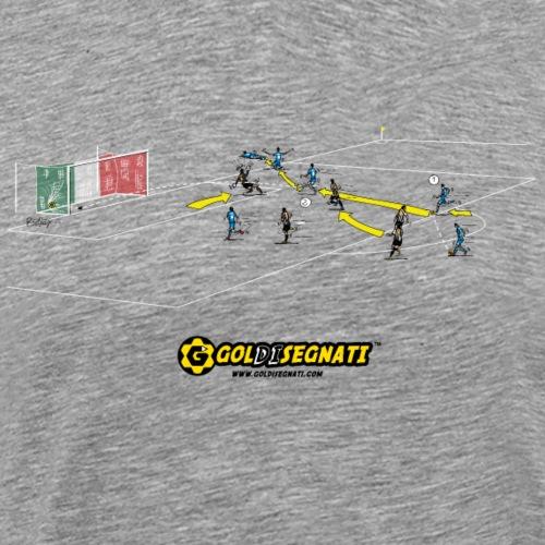 NAP-JUV 2-0   2012 Il Gol Storico della finale - Maglietta Premium da uomo