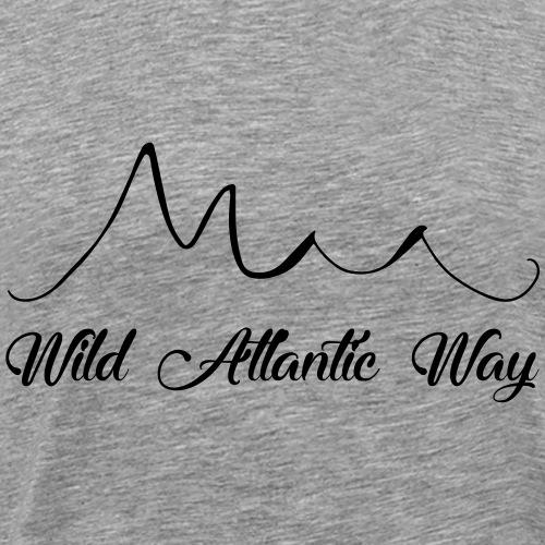 Wild Atlantic Way, Ireland - Men's Premium T-Shirt