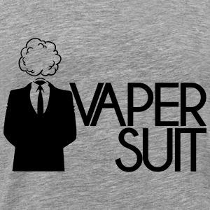 VAPER SUIT - Koszulka męska Premium