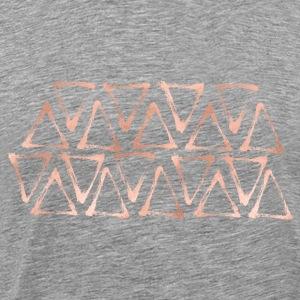 rose geo - T-shirt Premium Homme