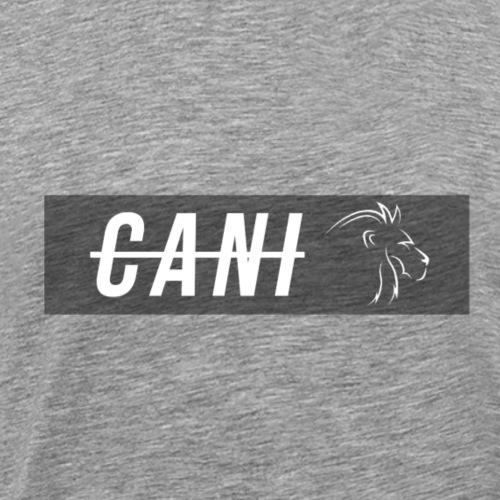 Cani mit Löwen Vector - Männer Premium T-Shirt