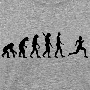 Evolution Run Runners runner joggen b - Mannen Premium T-shirt