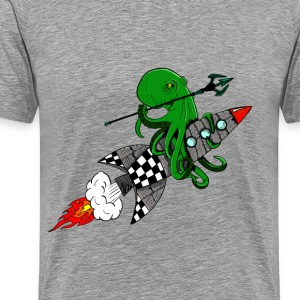 squid warrior - Men's Premium T-Shirt