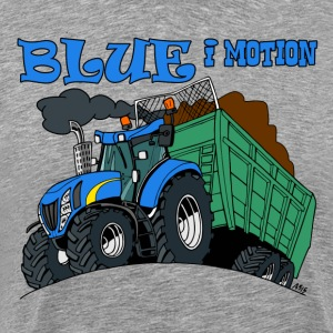 Blue in motion - Men's Premium T-Shirt
