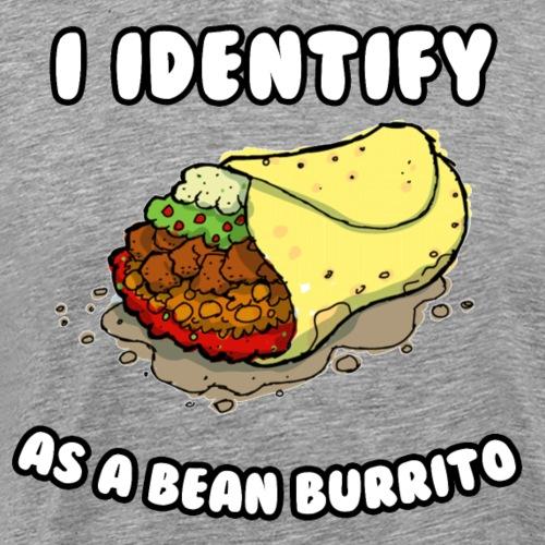 I identify as a burrito - Men's Premium T-Shirt