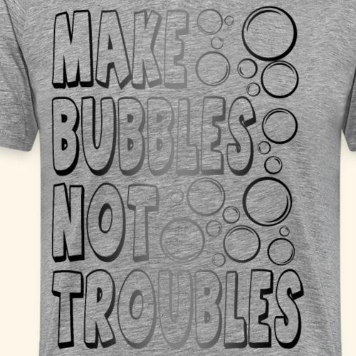 Bubbles002 - Mannen Premium T-shirt