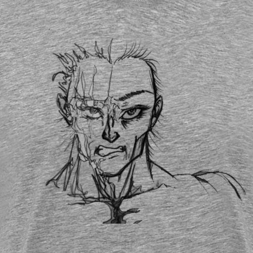 Two Face - Männer Premium T-Shirt