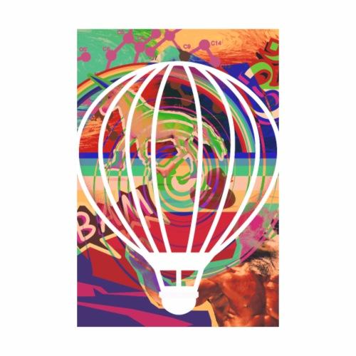 Rainbow Balloon - Männer Premium T-Shirt