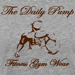 The Daily pumpa manlig modell - Premium-T-shirt herr