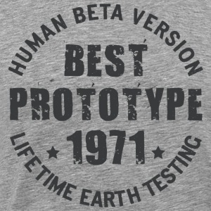 1971 - The year of birth of legendary prototypes - Men's Premium T-Shirt