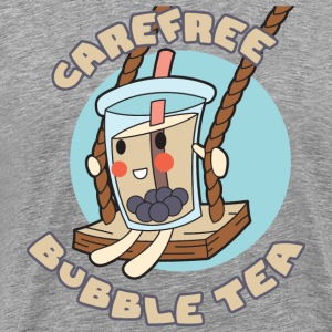 Carefree Bubble Tea - Men's Premium T-Shirt