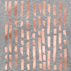 lignes d'or rose - T-shirt Premium Homme