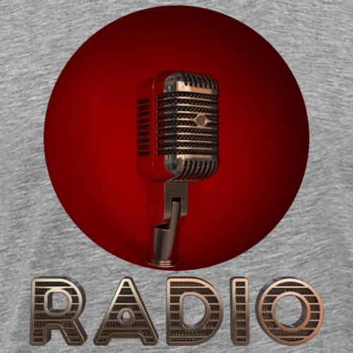 Microphone - T-shirt Premium Homme