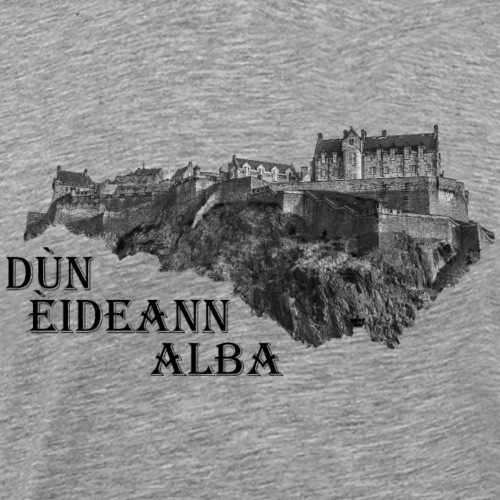 Edinburgh Castle Schottland - Männer Premium T-Shirt
