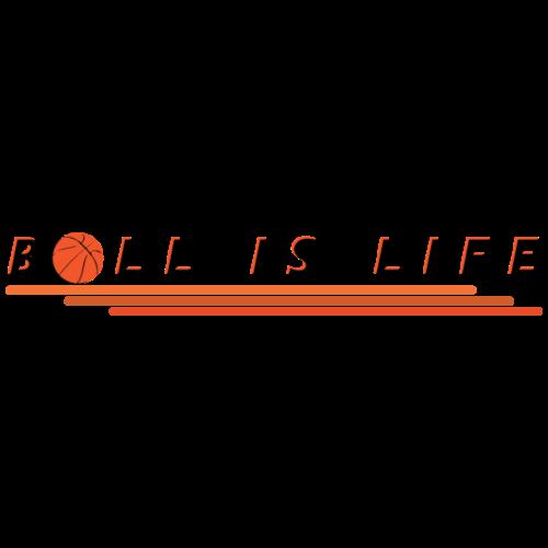 Basketball ist Leben | Ball Sport Geschenk - Männer Premium T-Shirt