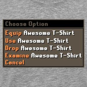 Runescape T-skjorte - Premium T-skjorte for menn
