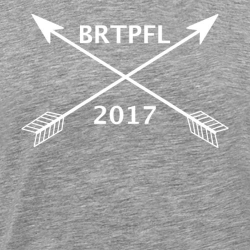 Bratapfel Arrow Weiß - Männer Premium T-Shirt