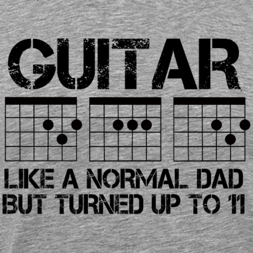 Guitar Dad 01 - Men's Premium T-Shirt