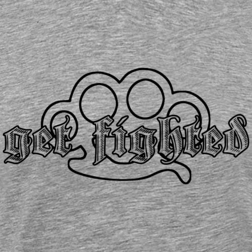 Get Fighted Logo - Männer Premium T-Shirt