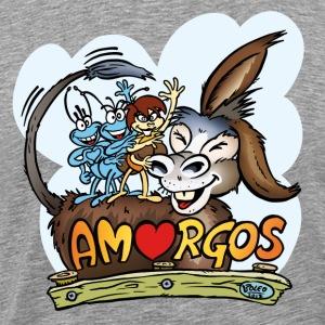 Anton & Beton und der lustige Amorgos Esel - Männer Premium T-Shirt