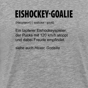Eishockey-Goalie - Männer Premium T-Shirt