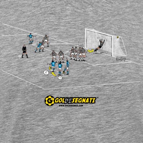 NAP-JUV 1-0   1985 The Historical Free kick - Maglietta Premium da uomo