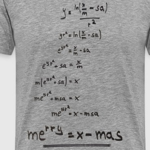 merry = x - mas - Men's Premium T-Shirt