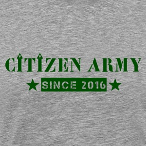 Citizen Tripad green - Premium-T-shirt herr
