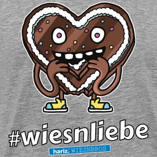 Wiesenliebe HARIZ PIXBROS WIESNBROS Oktoberfest - Männer Premium T-Shirt