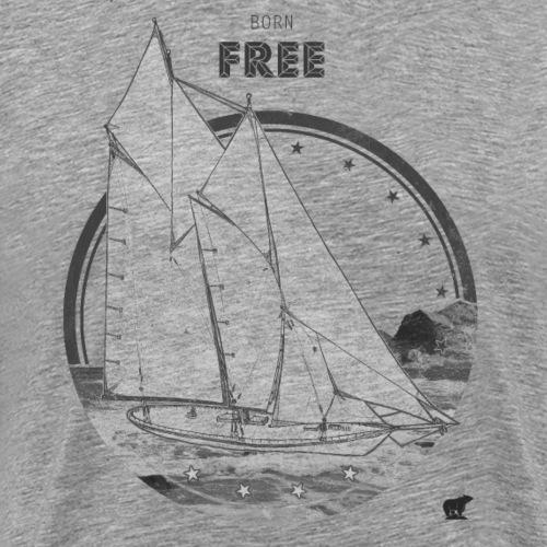 Free - T-shirt Premium Homme