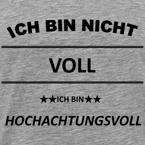 Hochachtungsvoll - Männer Premium T-Shirt