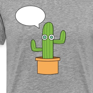 The cactus. - Men's Premium T-Shirt