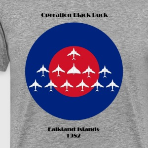 Vulcan Bomber - Operation BlackBuck design - Men's Premium T-Shirt