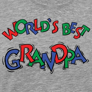 World's Best Grandpa - Men's Premium T-Shirt