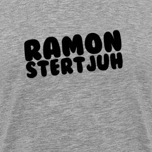 Ramonstertjuh Items met lettertype: Bubblegum! - Mannen Premium T-shirt