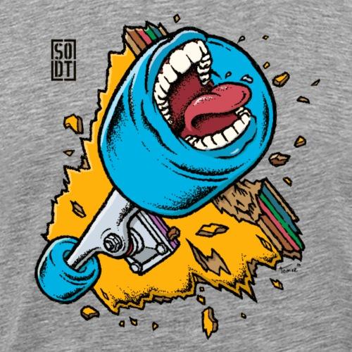 sodt screaming broken board - Männer Premium T-Shirt
