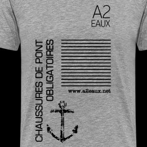 A2 Original #01 Grey - T-shirt Premium Homme
