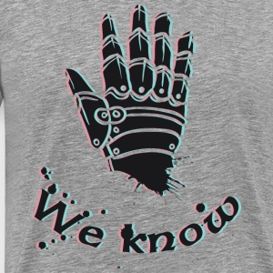 we Know - Mannen Premium T-shirt
