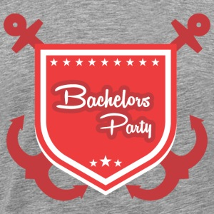 Bachelor Bachelor Party - Premium T-skjorte for menn