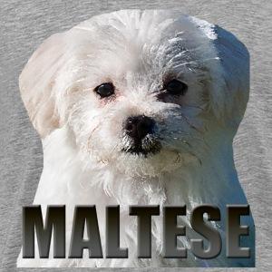 Maltese - Premium T-skjorte for menn