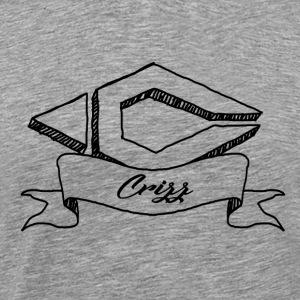 Drawed logo Black - Mannen Premium T-shirt