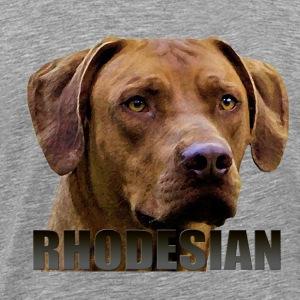 Rhodesian Ridgeback - Premium T-skjorte for menn