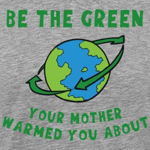 Earth Day Go Green - Premium-T-shirt herr