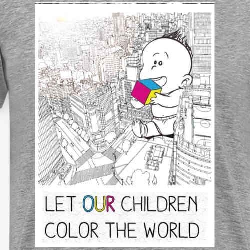 COLOR_THE_WORLD - T-shirt Premium Homme