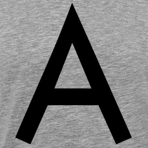The A - Men's Premium T-Shirt